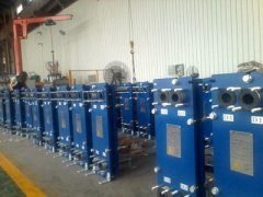大型板式换热器安装和使用方法