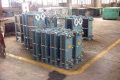 天津板式换热器漏水了怎么办?