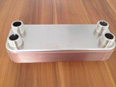 天津板式换热器怎样调节水流量来降低温度?