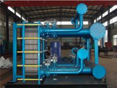板式换热器机组的原理结构及运用你了解吗?