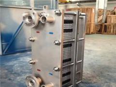 天津板式换热器的凝聚进程是怎样的?
