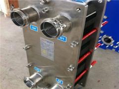 天津板式换热器流程流量的选择